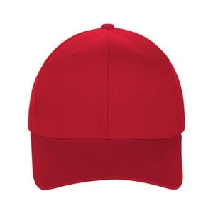 Gents Men's Fitted Hat Red Baseball Cap